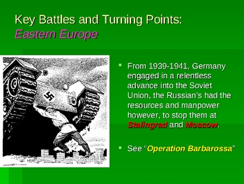 A Summary of World War II and its Legacy in the 20th Century
