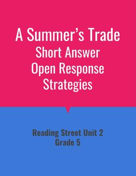A Summer's Trade Open Response Strategies (Reading Street 2011)