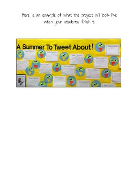 A Summer to Tweet About Activity