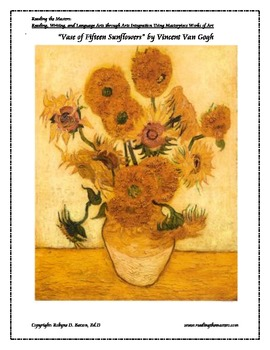 Writing: A Sunflower Comes to Life with Vincent vanGogh