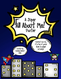 A Super All About Me Poster!