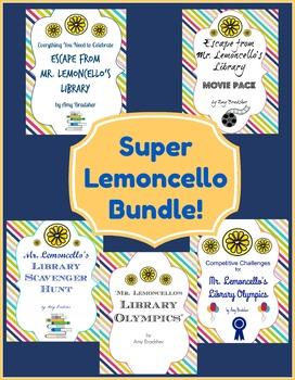 A Super Bundle to Accompany Chris Grabenstein's Award-Winning Lemoncello Books!