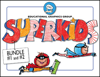Super Kids Start Your Year #1 and #2 BUNDLE