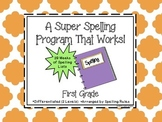 A Super Spelling Program that Works for First Grade