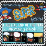 Superhero Themed Digital Class Memory Book