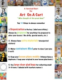 A Survival Guide For Art On A Cart