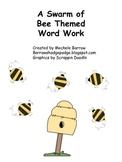 A Swarm of Word Work Activities