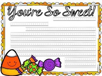 A Sweet Friendly Letter