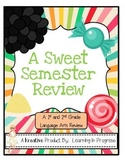 A Sweet Semester Review - Language Arts Assessment for the