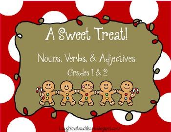 A Sweet Treat: Nouns, Verbs, & Adjectives