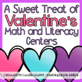 Valentine's Math and Literacy Centers