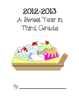 A Sweet Year Memory Book - Third Grade