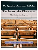 Syllabus for the Spanish Classroom - Editable