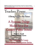 A Systemic Design Model for a 21st Century Public School