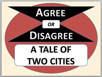 A TALE OF TWO CITIES - Agree or Disagree Pre-reading Activity