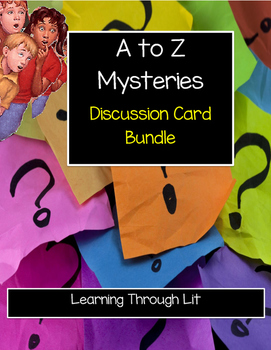 A TO Z MYSTERIES Discussion Card Bundle - All 26 Books!