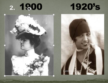 A TRIP THROUGH TIME: 1900 to the 1920s