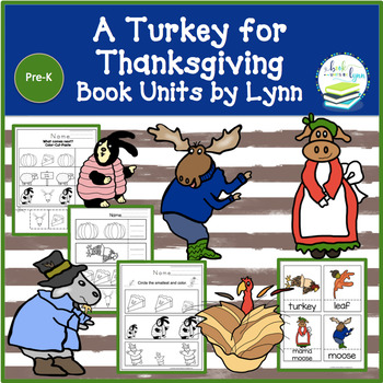 A TURKEY FOR THANKSGIVING  BOOK UNIT
