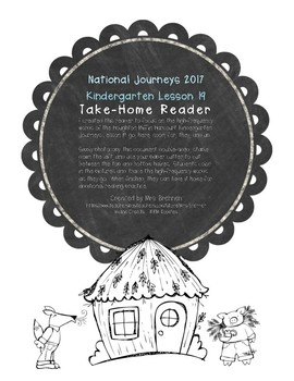 A Take-Home Reader for National Journeys Lesson 19