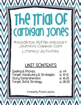 The Trial of Cardigan Jones (3rd Grade Journeys Supplement