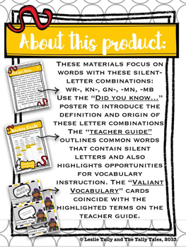 A Tale of Silent Letters & a Noisy Knight: Teaching wr-, kn-, gn-, -mn, -mb