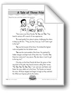 A Tale of Three Friends (Homophones)