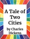 A Tale of Two Cities Adapted Literature Activity for Stude