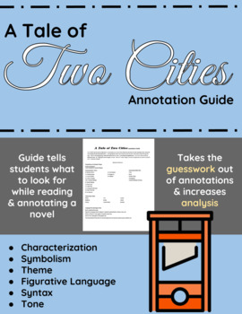 A Tale of Two Cities Annotation Guide