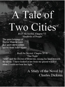 A Tale of Two Cities: Book the First Close Reading, NOT Book the Second or Third