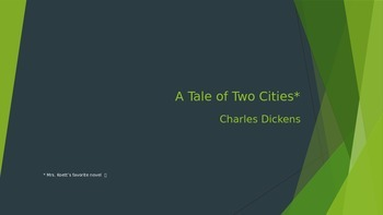 A Tale of Two Cities - Chapter Notes
