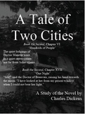 A Tale of Two Cities Conventional Study Guide, 24 Pages, Including Answer Key