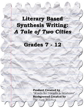 A Tale of Two Cities Interdisciplinary Research Simulation Task/Synthesis Paper