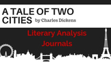 A Tale of Two Cities Literary Analysis Journals
