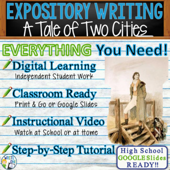 A Tale of Two Cities by C. Dickens - Text Dependent Analysis Expository Writing