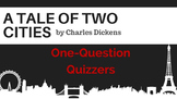 A Tale of Two Cities Quizzers