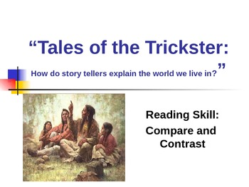 "A+ ""Tales of the Trickster"" - Treasures Reading - Compare & Contrast - 3rd"