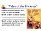 "A+ ""Tales of the Trickster"" - Treasures Reading - Compare"