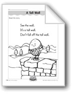 A Tall Wall (letter/sound association for 'w')