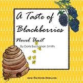 A Taste of Blackberries Novel Unit