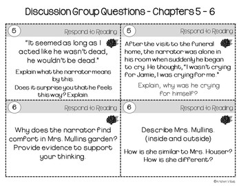 A Taste of Blackberries Discussion Questions