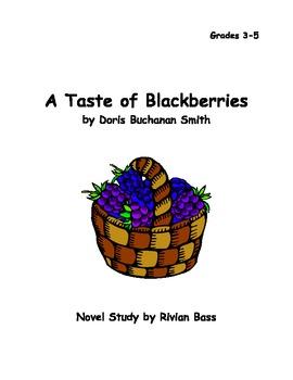 A Taste of Blackberries novel study