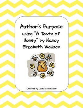 A Taste of Honey Author's Purpose
