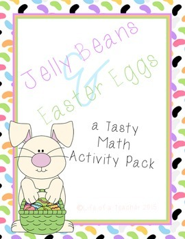 A Tasty Easter Math Pack {(*PRINT AND GO*)}