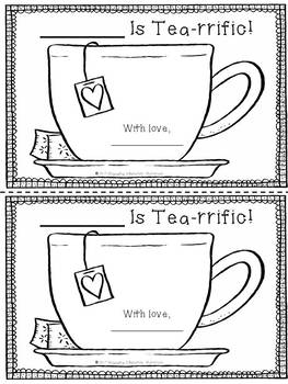 """A """"Tea""""rrific Mother's Day Card"""