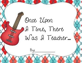A Teacher Appreciation Book