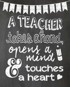 A Teacher Takes a Hand, Opens a Mind and Touches a Heart-