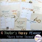 A Teacher's Happy Planner Harry Potter Theme