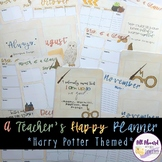 A Teacher's Happy Planner Harry Potter Theme
