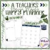 A Teacher's Happy Planner House Plants