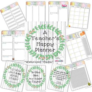 Happy Planner Worksheets & Teaching Resources | Teachers Pay